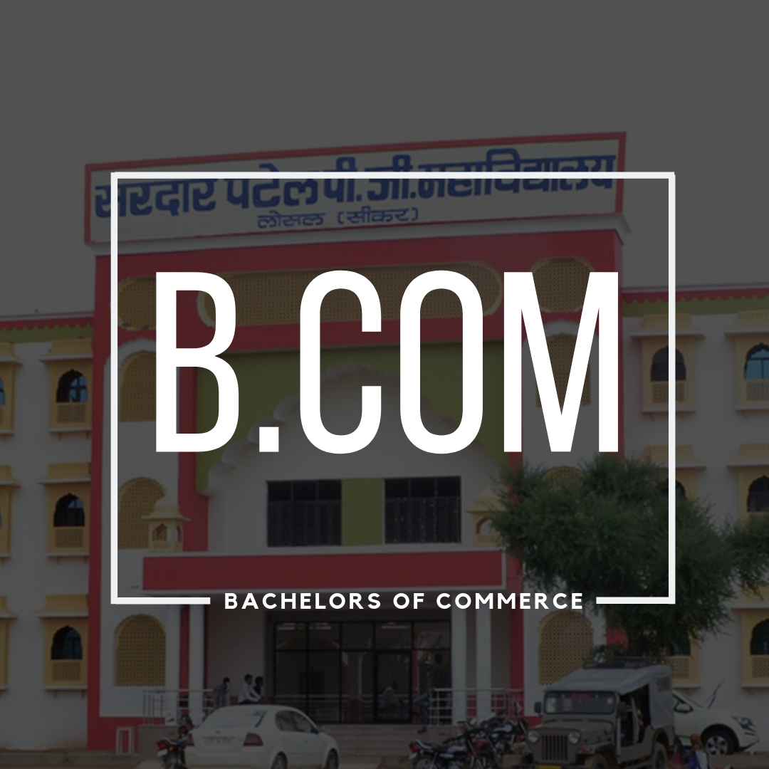 bachelore of commerce